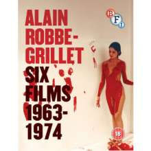 Alain Robbe-Grillet: Six Film 1964-1974 (Blu-ray) (UK Import), 3 Blu-ray Discs