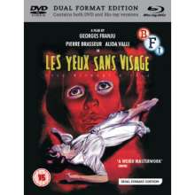 Eyes Without A Face (1960) (Blu-ray & DVD) (UK Import), 1 Blu-ray Disc und 1 DVD