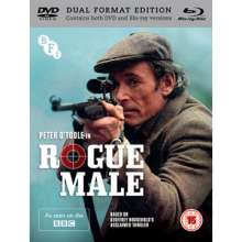 Rogue Male (1976) (Blu-ray & DVD) (UK Import), Blu-ray Disc