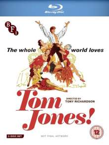 Tom Jones (1963) (Blu-ray) (UK Import), 2 Blu-ray Discs