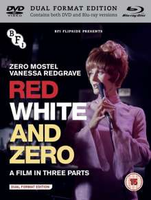 Red, White And Zero (1967) (Blu-ray & DVD) (UK Import), Blu-ray Disc