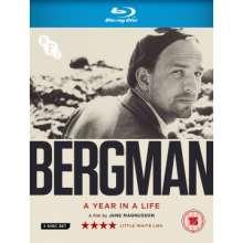 Ingmar Bergman: A Year In A Life (2018) (Blu-ray) (UK Import), 3 Blu-ray Discs