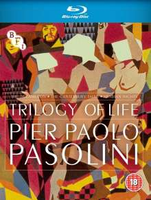 The Trilogy Of Life (1971-1974) (Blu-ray) (UK Import), 3 Blu-ray Discs