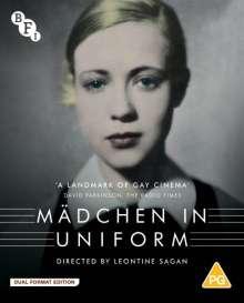 Mädchen in Uniform (1931) (Blu-ray & DVD) (UK Import mit deutscher Tonspur), 1 Blu-ray Disc und 1 DVD