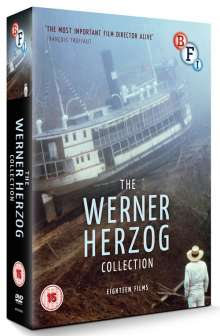The Werner Herzog Collection (UK Import mit deutscher Tonspur), 10 DVDs