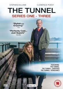 The Tunnel Season 1-3 (UK Import), 6 DVDs