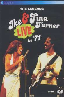 Ike & Tina Turner: The Legends Live In '71, DVD