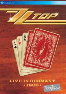 ZZ Top: Live In Germany 1980: Rockpalast, DVD