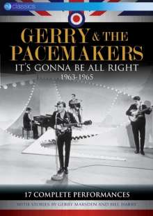 Gerry & The Pacemakers: It's Gonna Be All Right 1963 - 1965: Complete Performances, DVD
