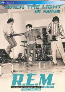 R.E.M.: When The Light Is Mine: The Best Of The I.R.S. Years 1982 - 1987 (Video Collection), DVD