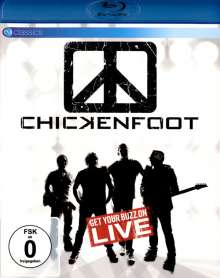 Chickenfoot: Get Your Buzz On Live (EV Classics), Blu-ray Disc