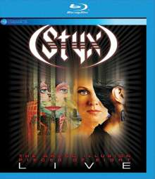 Styx: The Grand Illusion & Pieces Of Eight Live 2010 (EV Classics), Blu-ray Disc
