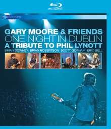 Gary Moore: One Night in Dublin: A Tribute To Phil Lynott (EV Classics), Blu-ray Disc