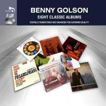 Benny Golson (geb. 1929): Eight Classic Albums, 4 CDs