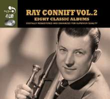 Ray Conniff: Eight Classic Albums Vol.2, 4 CDs
