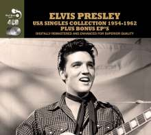 Elvis Presley (1935-1977): USA Singles Collection 1954 - 1962, 4 CDs