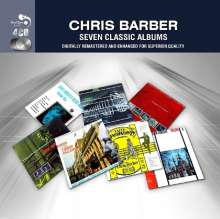 Chris Barber (geb. 1930): Seven Classic Albums, 4 CDs
