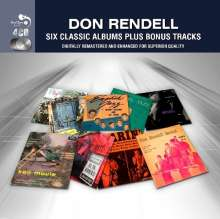 Don Rendell (geb. 1926): Six Classic Albums Plus, 4 CDs