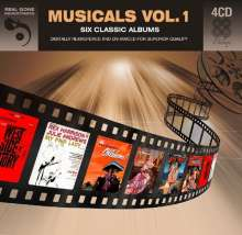 Musical: Musicals Vol.1: Six Classic Sountrack Albums, 4 CDs