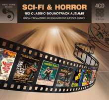 Filmmusik: Six Classic Sci-Fi & Horror Albums, 4 CDs