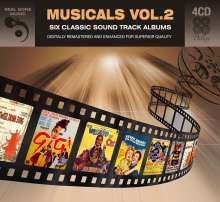 Musical: Six Classic Soundtrack Albums: Musicals Vol. 2, 4 CDs