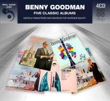 Benny Goodman (1909-1986): Five Classic Albums, 4 CDs