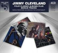 Jimmy Cleveland (1926-2008): Four Classic Albums Plus, 4 CDs
