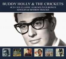 Buddy Holly: Six Classic Albums Plus Bonus Singles & Session Tracks, 4 CDs
