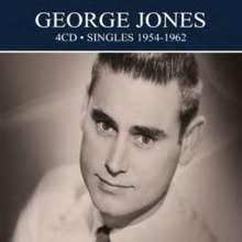 George Jones (1931-2013): Singles 1954 To 1962, 4 CDs