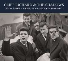 Cliff Richard & The Shadows: Singles & EP Collection 1958 - 1962, 4 CDs