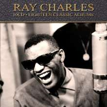 Ray Charles: Eighteen Classic Albums, 10 CDs