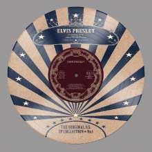 """Elvis Presley (1935-1977): US EP Collection Vol.1 - Limited-Edition (Picture Disc), Single 10"""""""