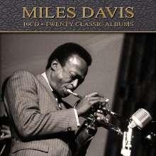 Miles Davis (1926-1991): 20 Classic Albums, 10 CDs