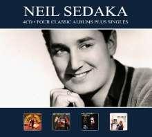 Neil Sedaka: Four Classic Albums Plus Singles, 4 CDs