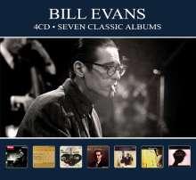 Bill Evans (Piano) (1929-1980): Seven Classic Albums, 4 CDs
