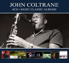 John Coltrane (1926-1967): Eight Classic Albums, 4 CDs