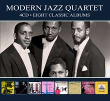 The Modern Jazz Quartet: Eight Classic Albums, 4 CDs
