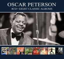 Oscar Peterson (1925-2007): Eight Classic Albums, 4 CDs