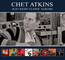 Chet Atkins: Eight Classic Albums, 4 CDs