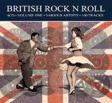 British Rock'n'Roll, 4 CDs