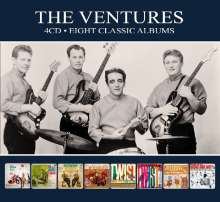 The Ventures: Eight Classic Albums, 4 CDs