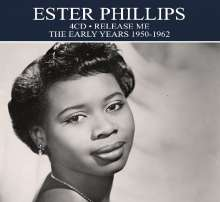 Ester Phillips: The Early Years 1950 To 1962, 4 CDs