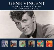 Gene Vincent: Six Classic Albums Plus, 4 CDs