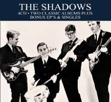 The Shadows: Two Classic Albums Plus, 4 CDs