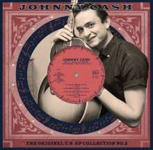 Johnny Cash: US EP Collection Vol.2 (remastered) (Limited-Edition) (White Vinyl), Single 10""