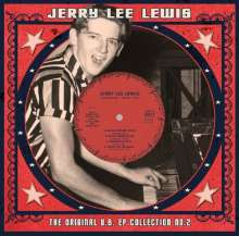 Jerry Lee Lewis: Original US EP Collection Vol.2 (remastered) (Limited-Edition) (White Vinyl), Single 10""