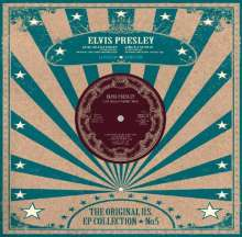 Elvis Presley (1935-1977): US EP Collection Vol.5 (Limited-Edition) (White Vinyl), Single 10""