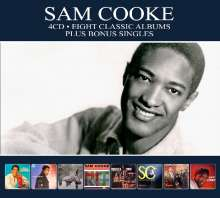 Sam Cooke: Eight Classic Albums Plus, 4 CDs