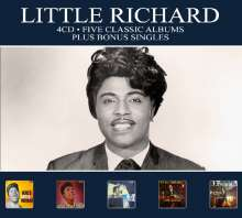 Little Richard: Five Classic Albums Plus, 4 CDs