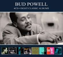 Bud Powell (1924-1966): 8 Classic Albums, 4 CDs